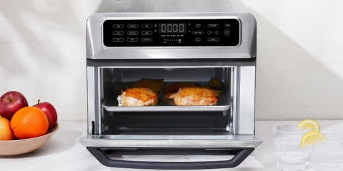 50% Off Chefman Dual Function Air Fryer Toaster Oven Combo on BestBuy.com + FREE Shipping