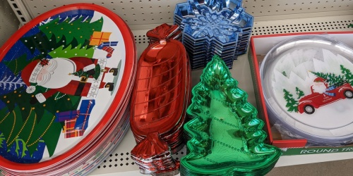 Christmas Platters, Mugs, & Tumblers Only $1 at Dollar Tree