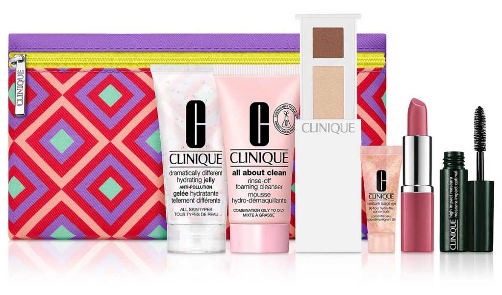 clinique 7 piece gift set