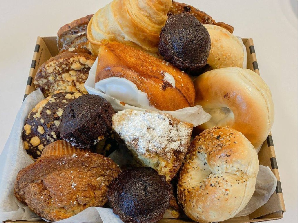 plate of different pastries