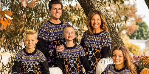 These Ugly Sweaters Are the Perfect Lazy Halloween Costume