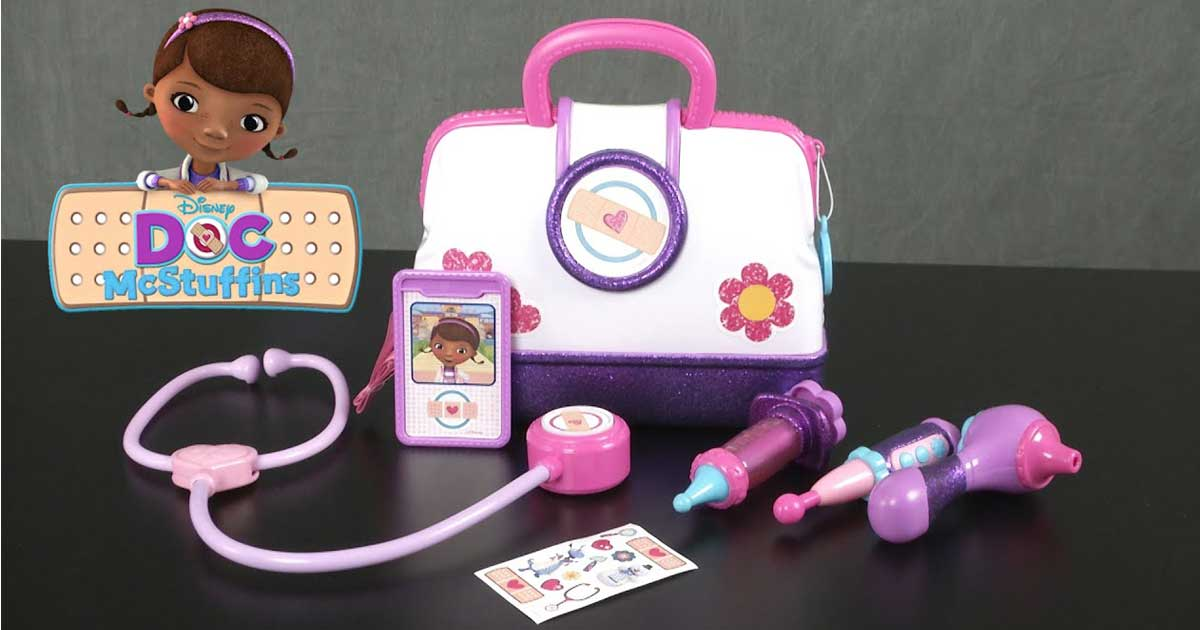 doc mcstuffins medical bag and tools