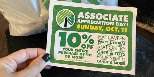 Dollar Tree 10% Off Storewide Coupon (October 11th Only) = 90¢ Fall & Halloween Finds