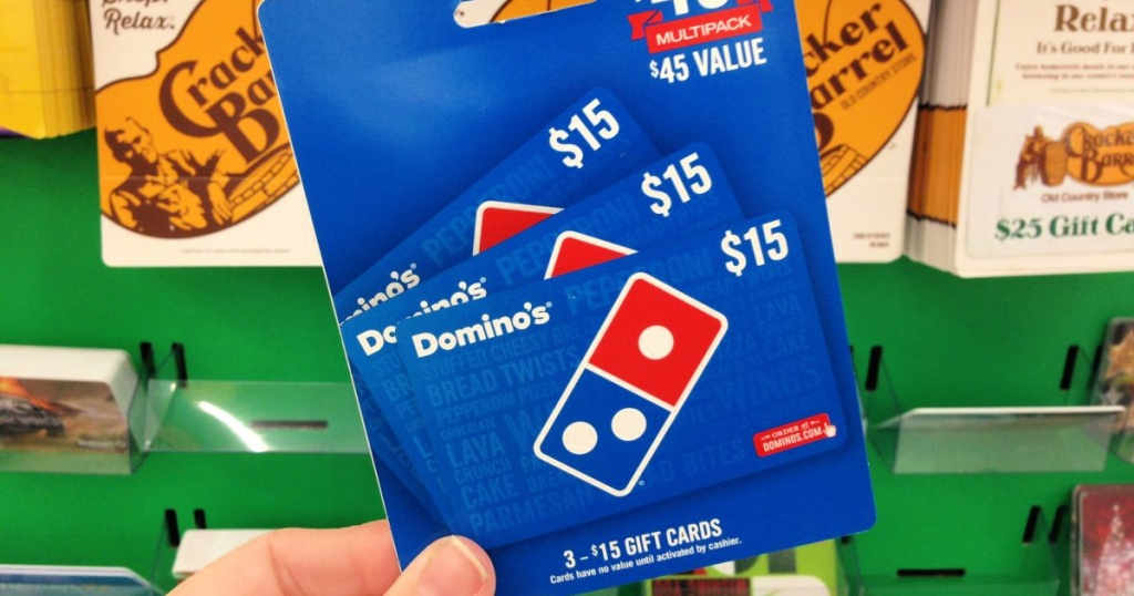 domino's gift card value pack