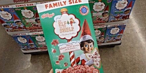 Walmart is Selling two Elf on the Shelf Cereals this Year
