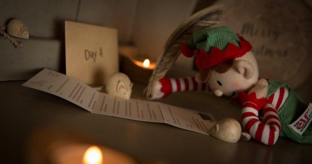 elf reading letter