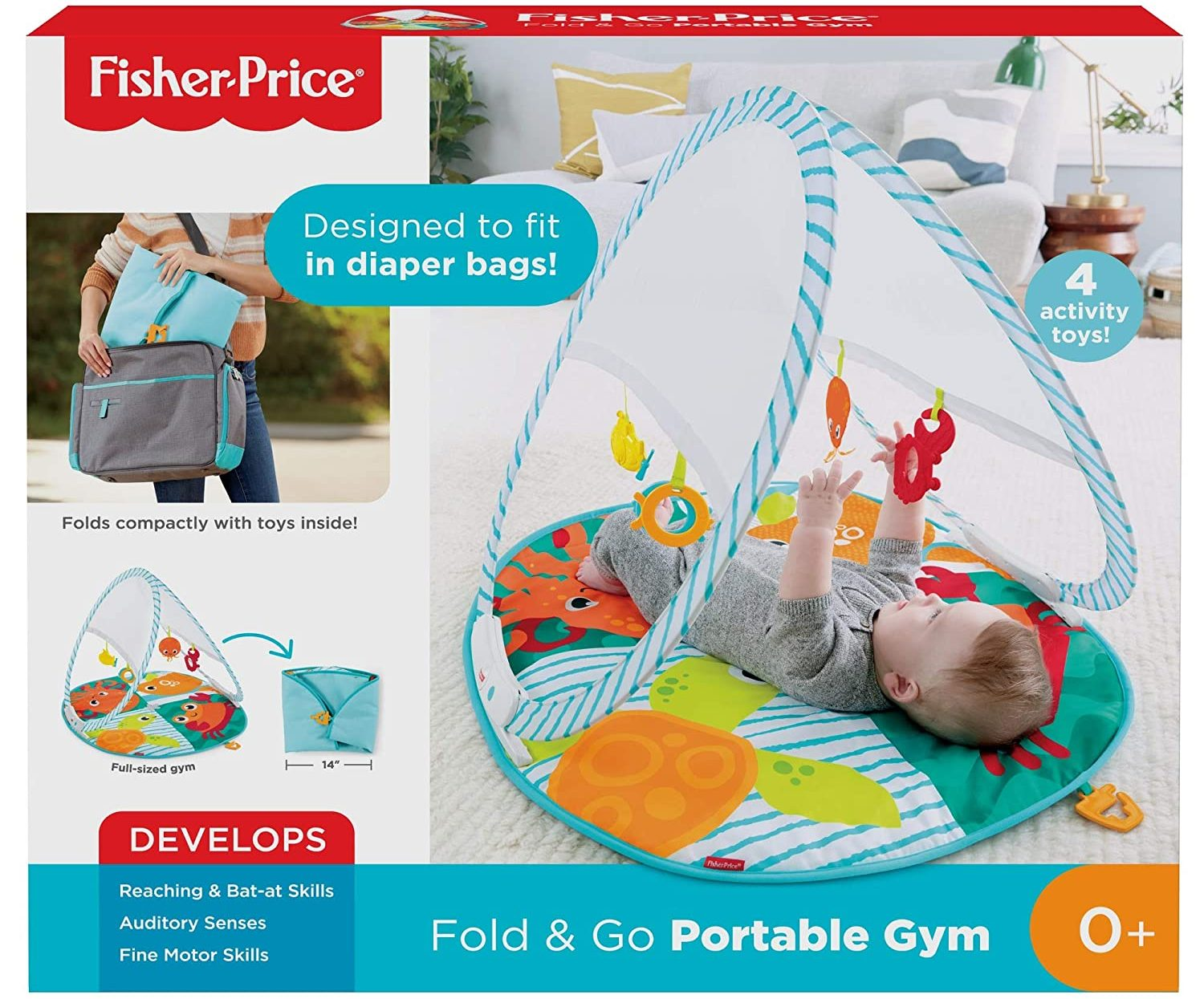 fold and go playmat in box