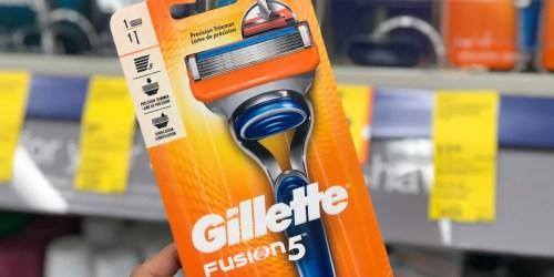Gillette Razor Only 99¢ After Walgreens Rewards (Regularly $11+)