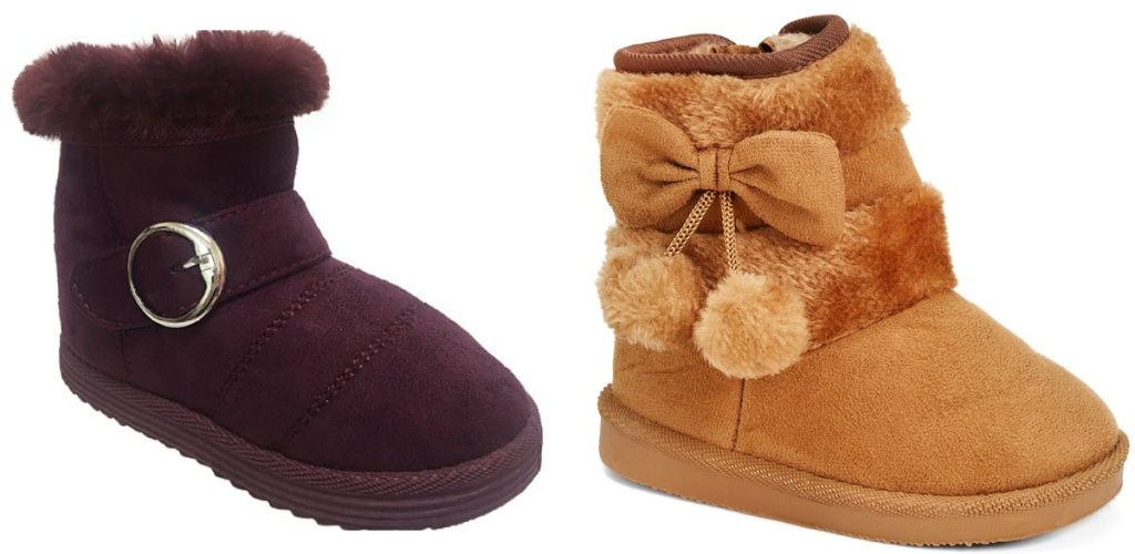 girls fur boots for fall