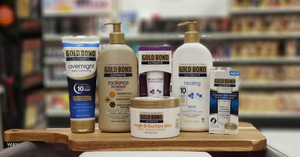 gold bond products on shelf
