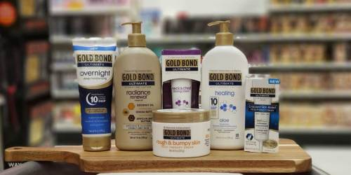 $4.50 Worth of Gold Bond Coupons = Lotions from $1.24 Each at CVS & Walgreens
