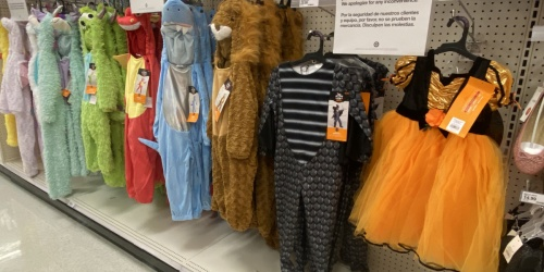 Get Ready!! 40% Off Kids Halloween Costumes at Target (Tomorrow, 9/21 Only!)
