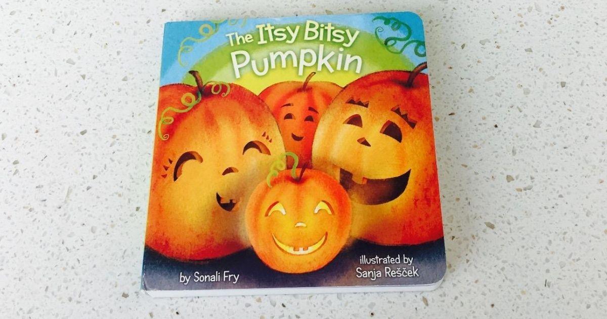 itsy bitsy pumpkin book