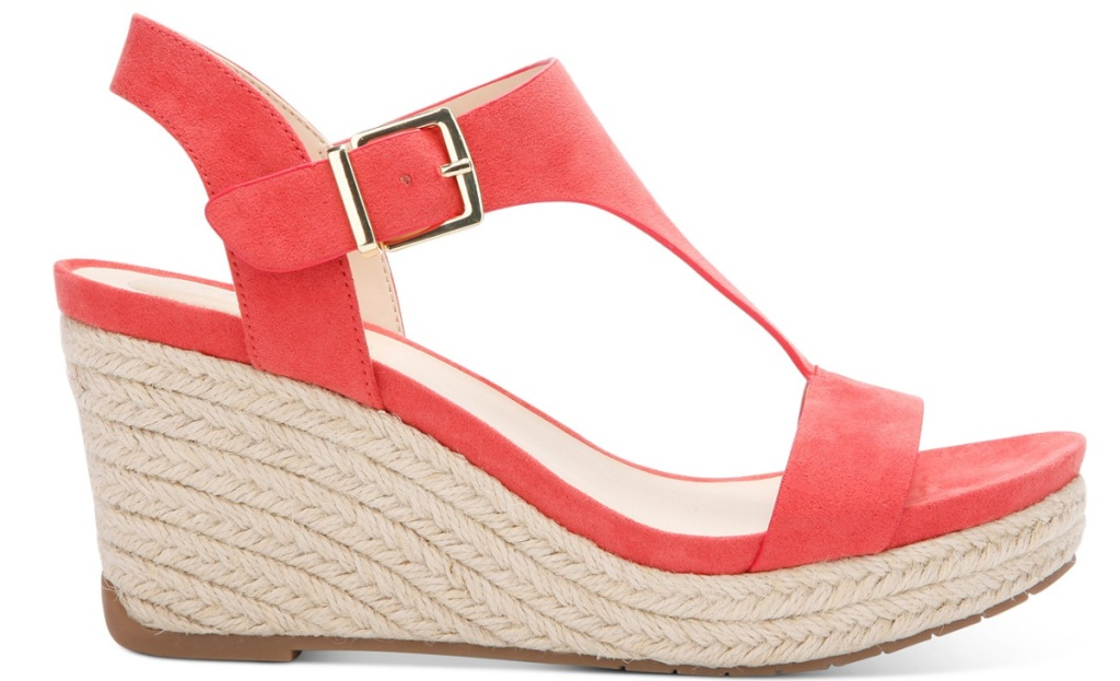 kenneth cole coral wedge sandal for women