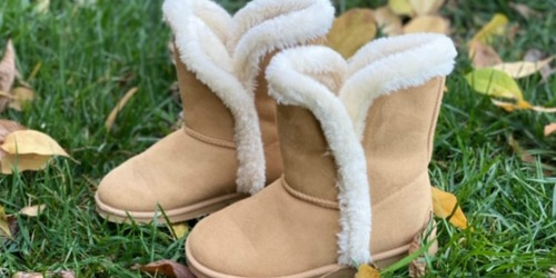 TWO Pairs of FabKids Shoes or Boots Only $9.95 Shipped