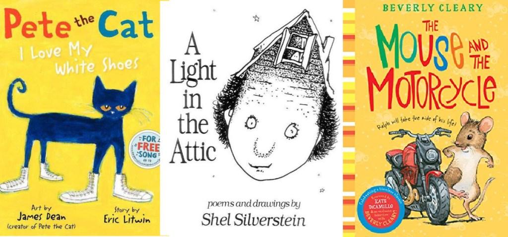 kindle kids books three titles