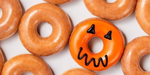 $1 Krispy Kreme Glazed Dozen w/ Any Dozen Purchase | Every Saturday in October