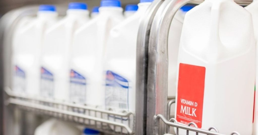 Kroger milk half gallons in store