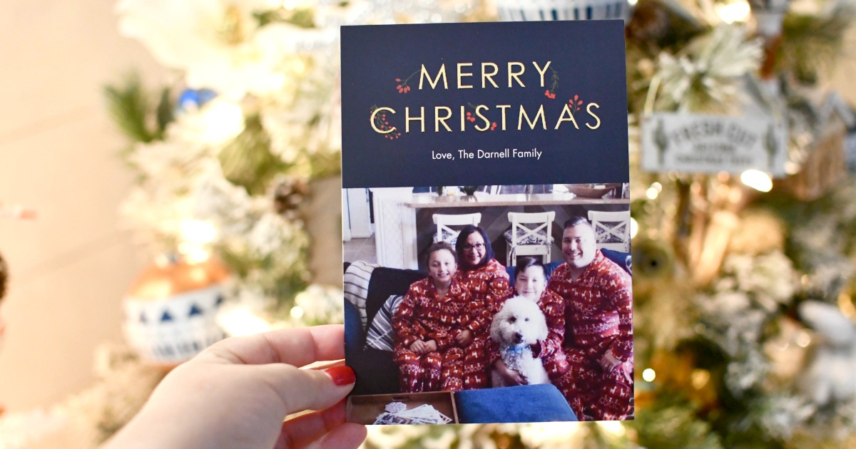 Best Christmas Card Deals 2020 4 Cheap Photo Christmas Card Deals (As Low at 24¢ Each!) | Hip2Save