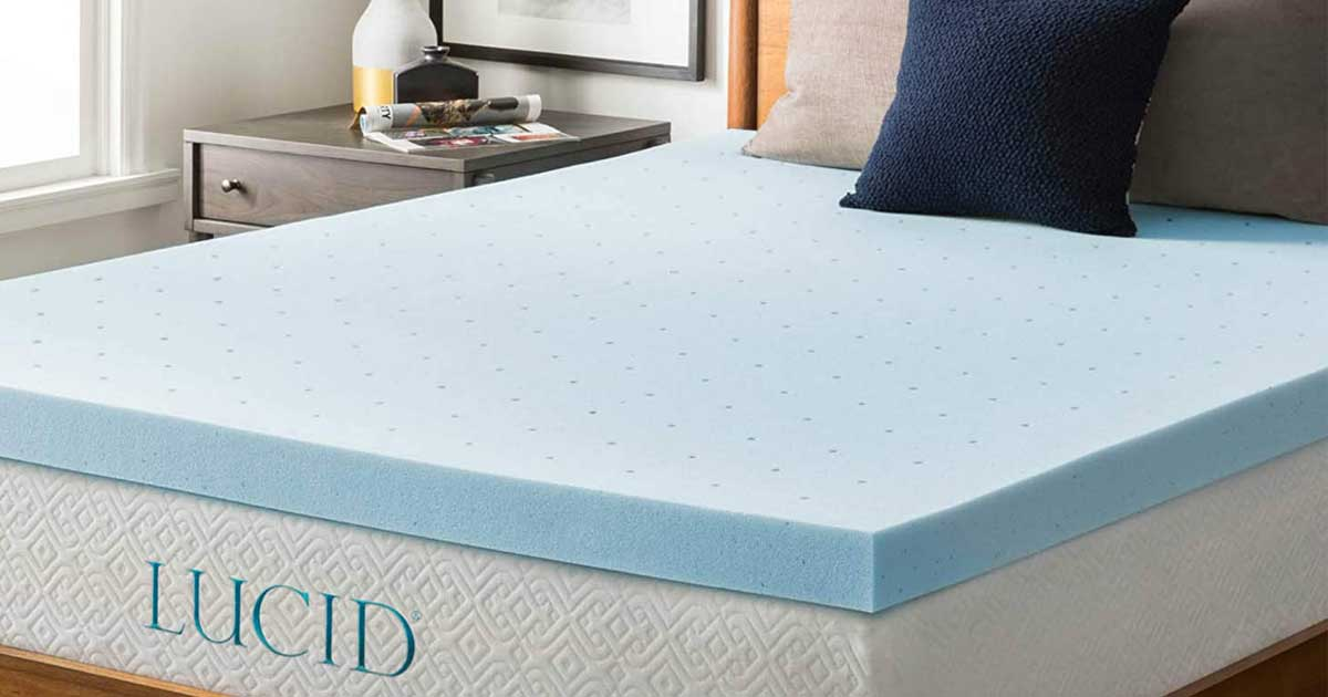 mattress pad on a bed