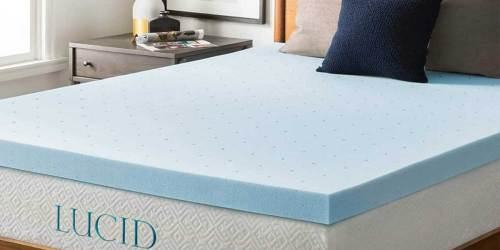 Gel Memory Foam 3″ Mattress Topper Just $43.99 on HomeDepot.com (Regularly $100)