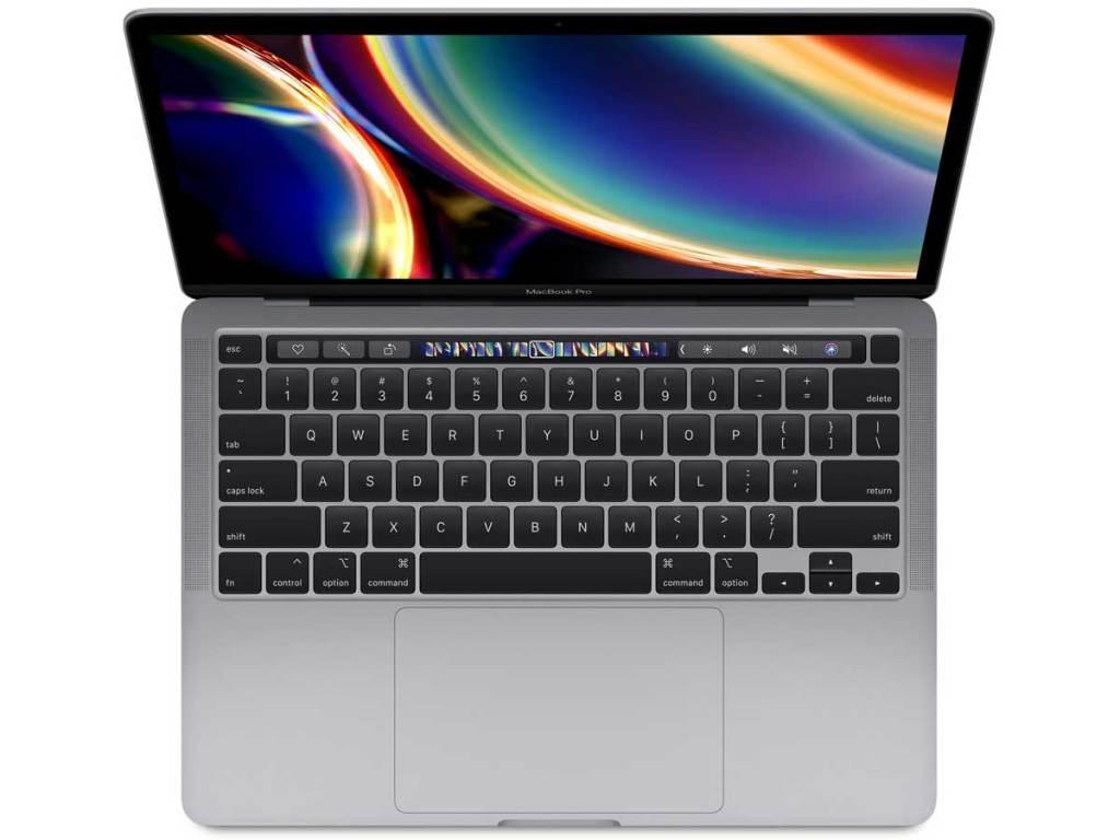stock image of macbook pro laptop