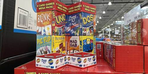 Mattel Mega Card Game 8-Pack Just $18.99 at Costco | Perfect for Family Game Night