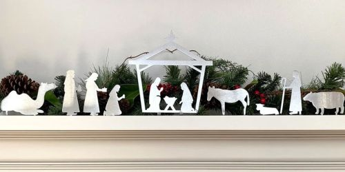 Metal Nativity Sets Just $24.99 Shipped (Regularly $40) | 4 Designs Available