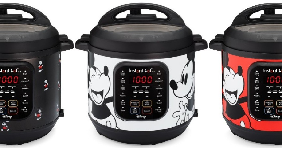3 Mickey Mouse Instant Pots