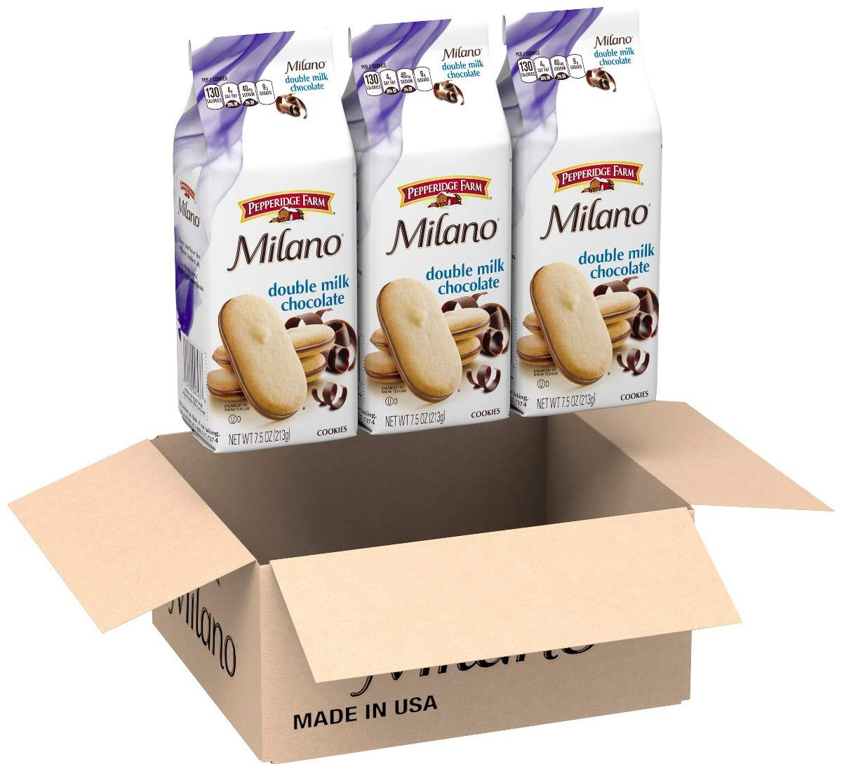 3-pack milanos in box
