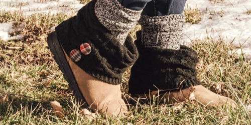Muk Luks Women's Boots from $39.99 Shipped (Regularly $76+) | Lots of Cozy Styles