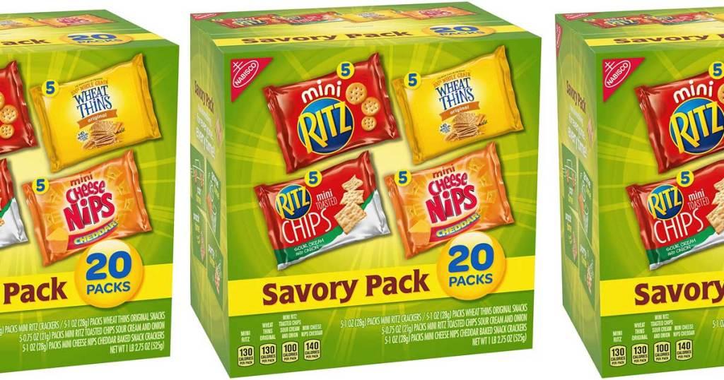nabisco savory pack of treats