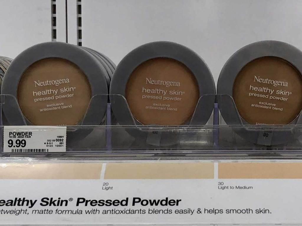 neutrogena pressed powder on shelf