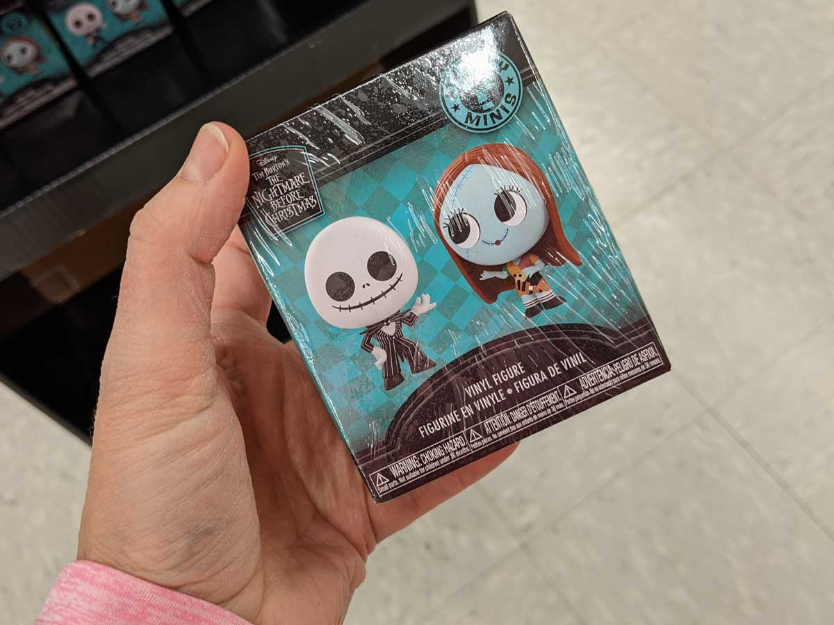 Disney Nightmare Before Christmas blind box in-hand in-store