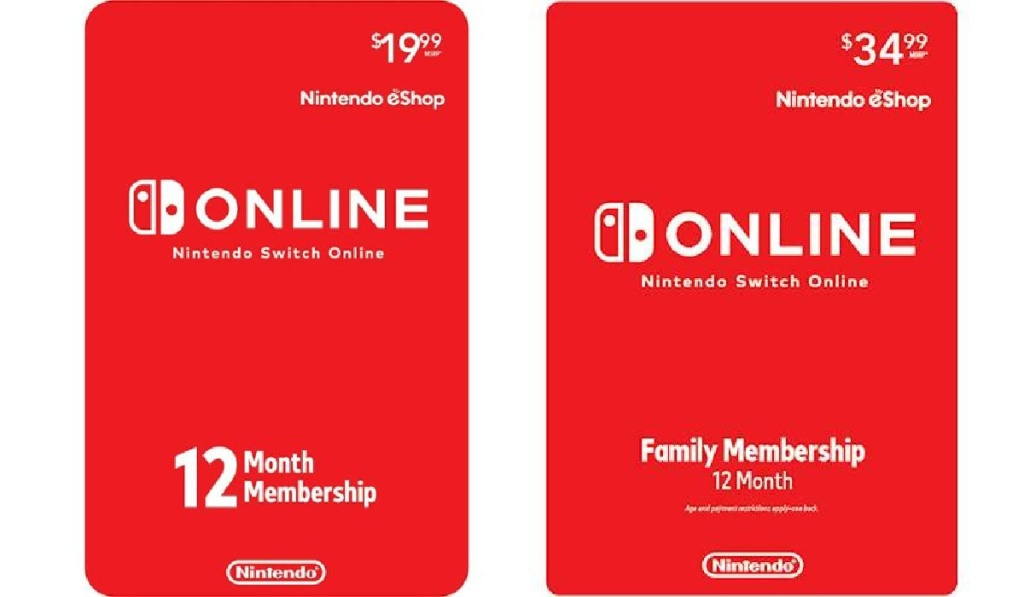 nintendo switch membership individual and family