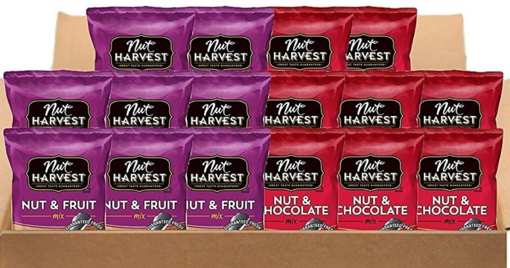 Nut Harvest Nut & Fruit and Nut & Chocolate bags