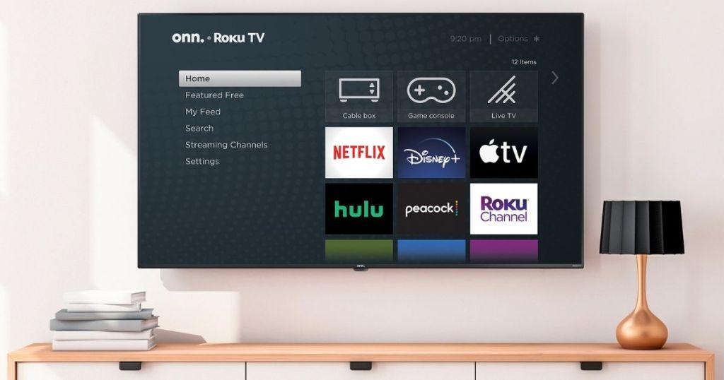 65 4k Uhd Led Roku Smart Tv Just 228 Shipped Walmart Black Friday Deal