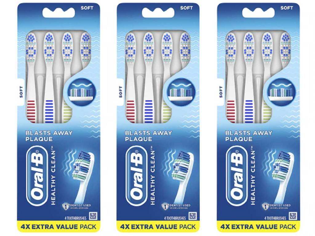 oral-b extra value pack toothbrushes