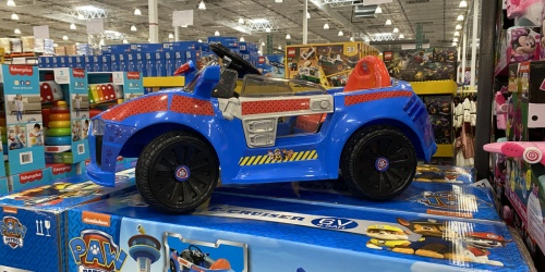Paw Patrol 6-Volt Rechargeable Car Just $99.99 Shipped on Costco.com