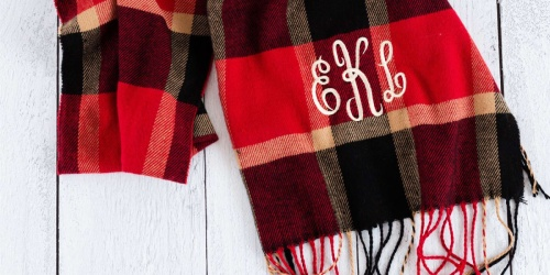 Personalized Monogram Scarf Just $10.99 Shipped | 11 Fall-Worthy Patterns
