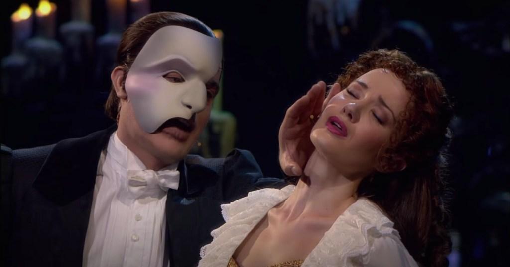 phantom of the opera christine and phantom