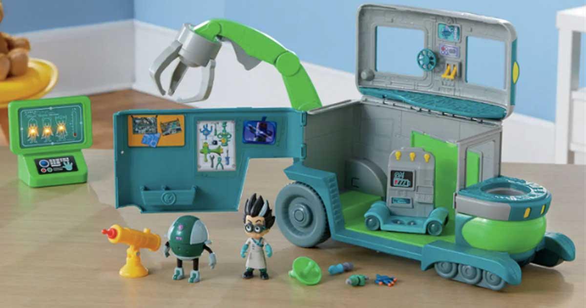 toy lab for kids pjmask