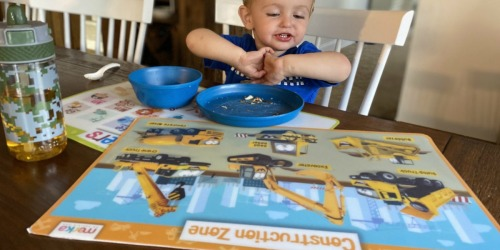 My Favorite Kids Placemats are Non-Slip, Reusable, & Educational!
