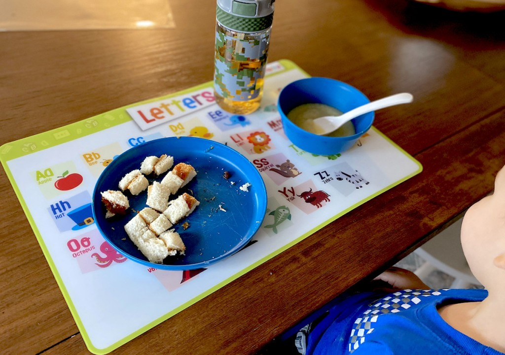 Best Kids Placemats Non Slip Reusable Educational Hip2save
