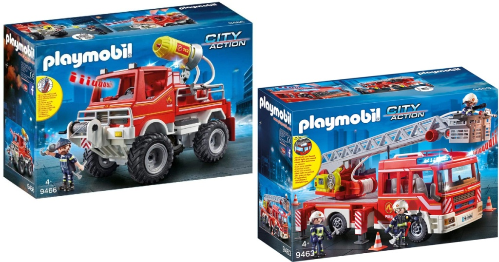 playmobil two fire sets