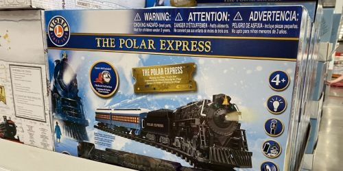 Polar Express & Harry Potter Train Sets Only $59.99 at Costco