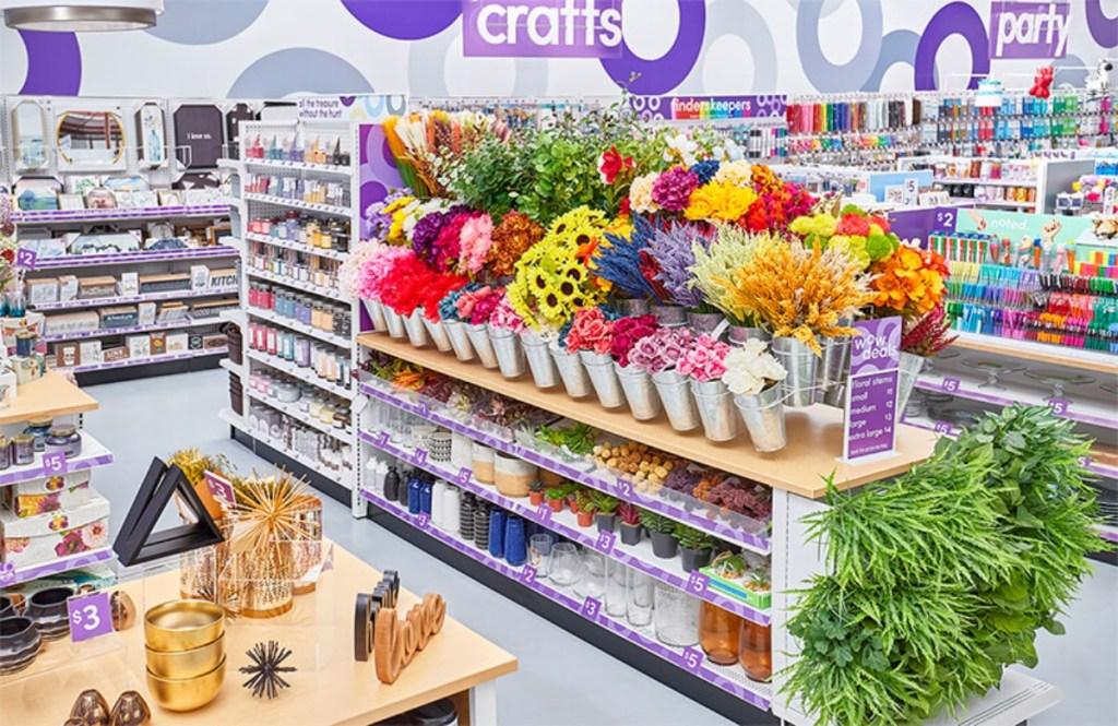 craft department of popshelf store