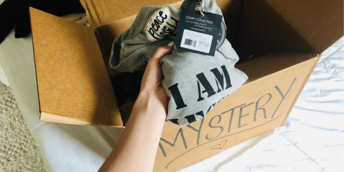 Score a Mystery Box w/ $345 Worth of Name Brand Apparel & Footwear for Around $53 Shipped