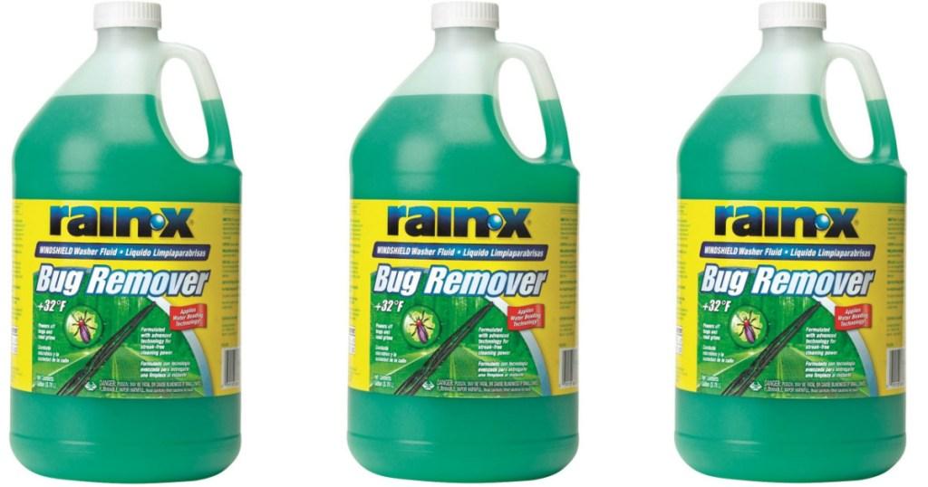 3 Rain X gallon jugs