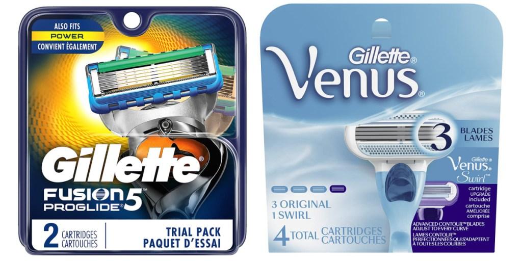 razor refill gillette and venus
